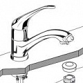 Ideal Standard CLEAR TAP A 5051 схема, запчасти
